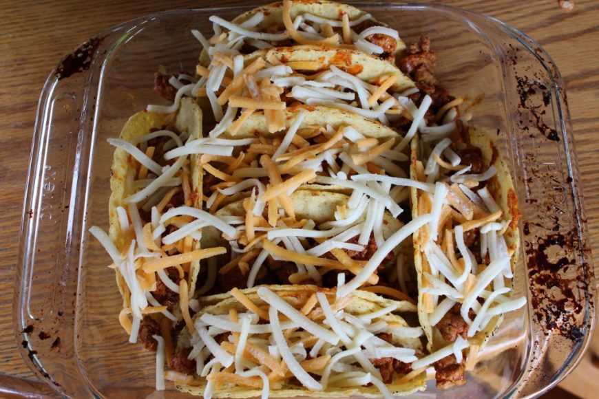 Foodie Friday - Baked Taco's 1