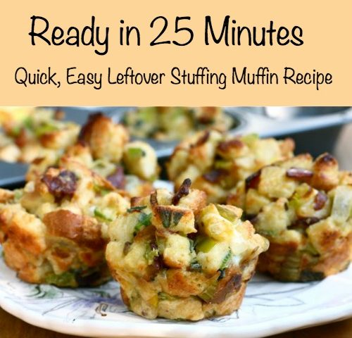 Stuffing Muffin Recipe