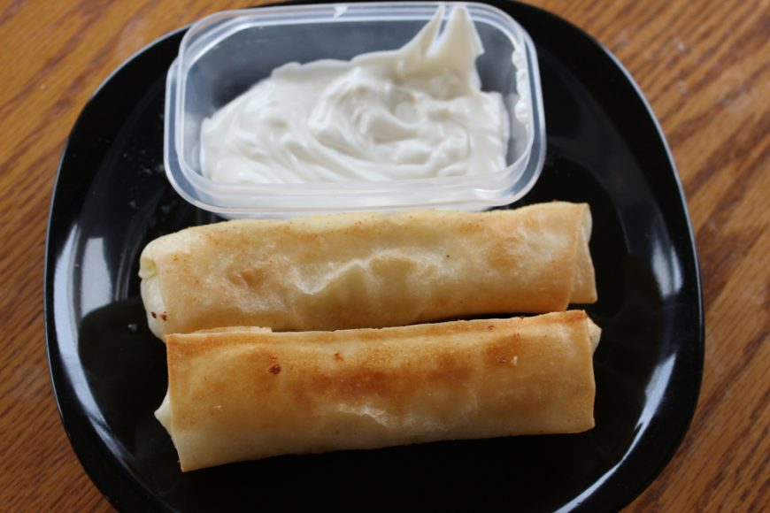Mashed Potato Spring Rolls 2