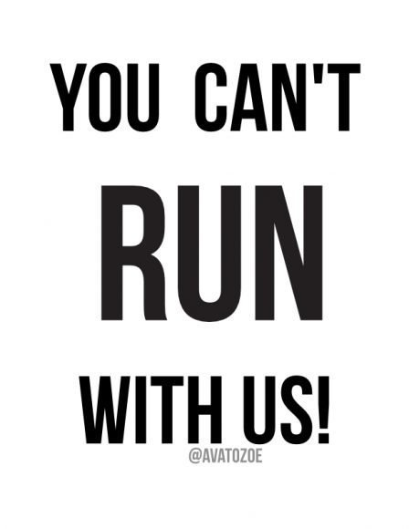 You Can't Run With Us + Free Download 3
