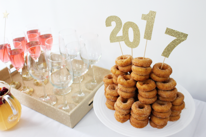 The Perfect Boozy NYE Sparkling Wine Cupcakes 4