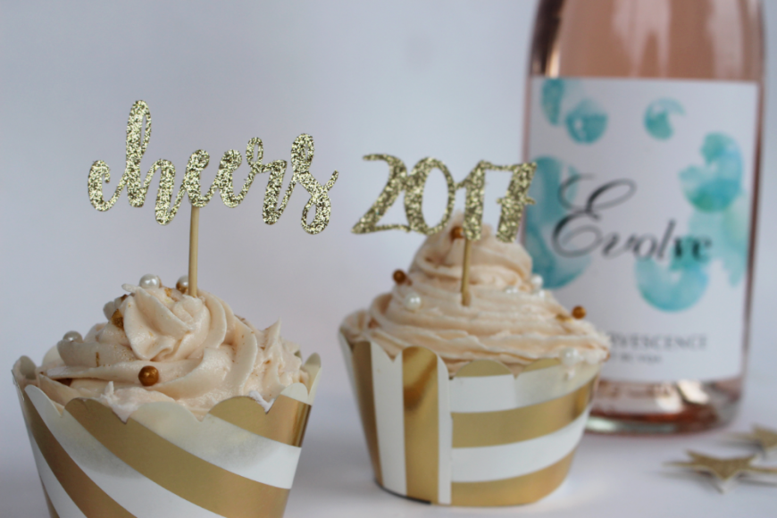 The Perfect Boozy NYE Sparkling Wine Cupcakes 10