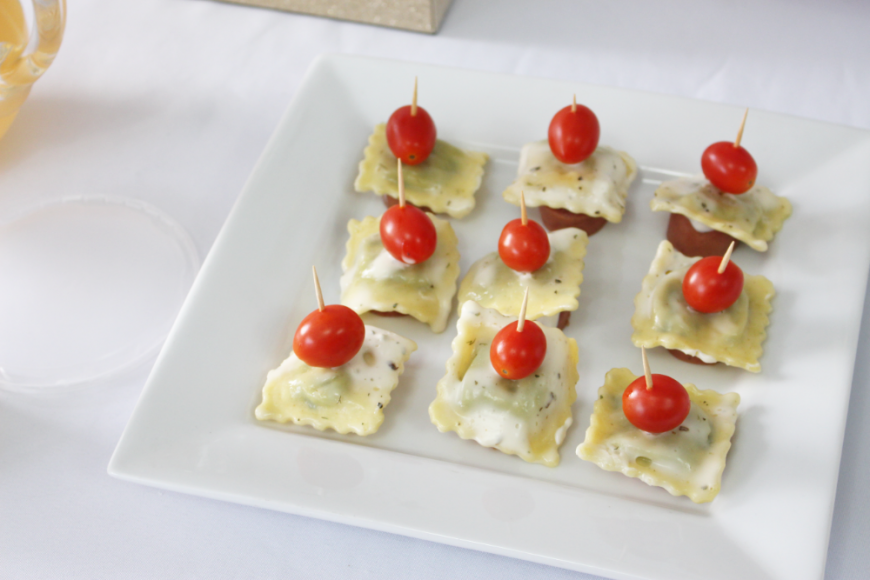 Quick, Easy and Delicious 3 Step Ravioli Pop Appetizers 5