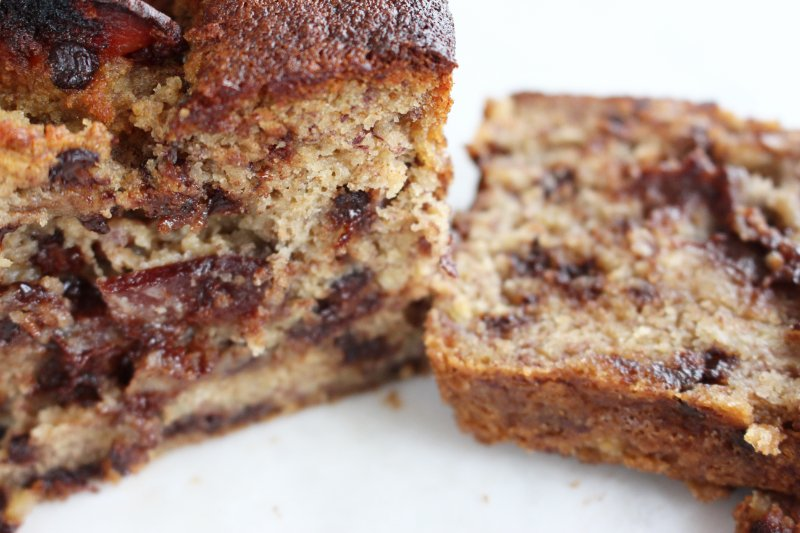 Delicious Chocolatey Bacon Banana Bread - A Family Favourite 3