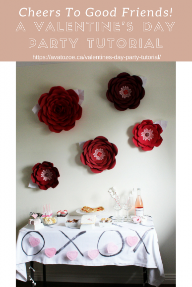 Cheers To Good Friends! A Valentine's Day Party Tutorial! 19