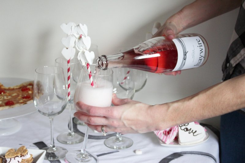 Cheers To Good Friends! A Valentine's Day Party Tutorial! 12