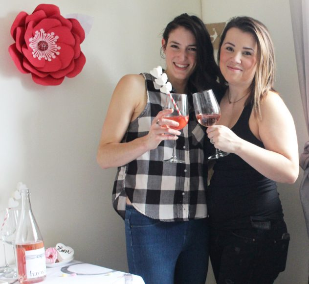 Cheers To Good Friends! A Valentine's Day Party Tutorial! 25