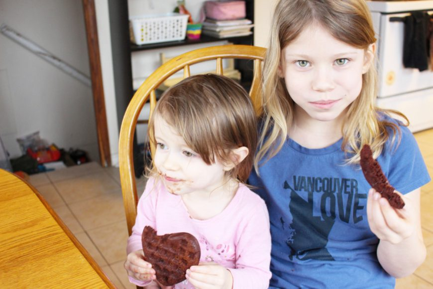 A Chocolate Waffle A Day Keeps The Hangry Children Away Recipe 12