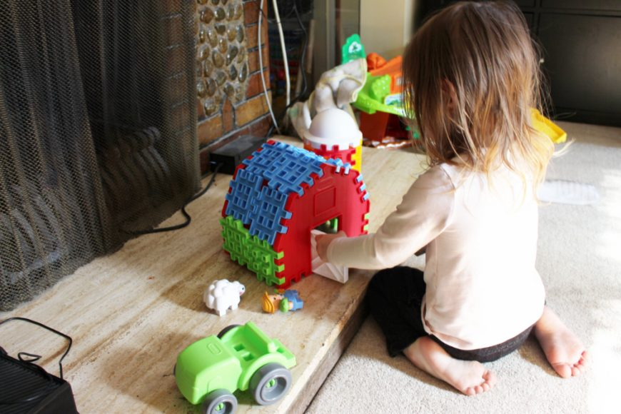 Little Tykes Waffle Blocks- If You Build It They Will Come! {Giveaway} 8