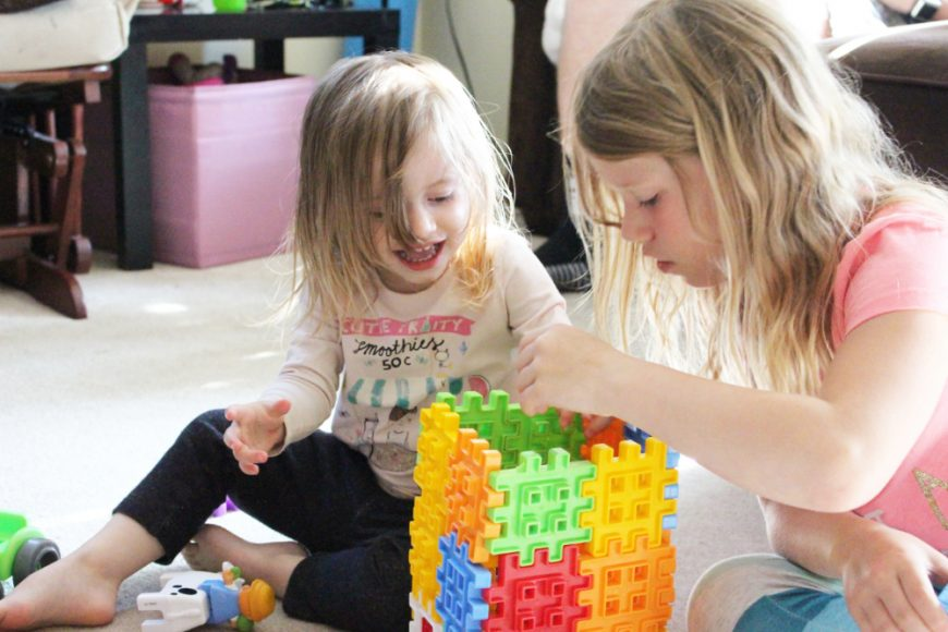 Little Tykes Waffle Blocks- If You Build It They Will Come! {Giveaway} 6