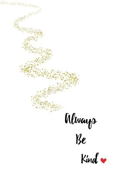 always be kind kids printable