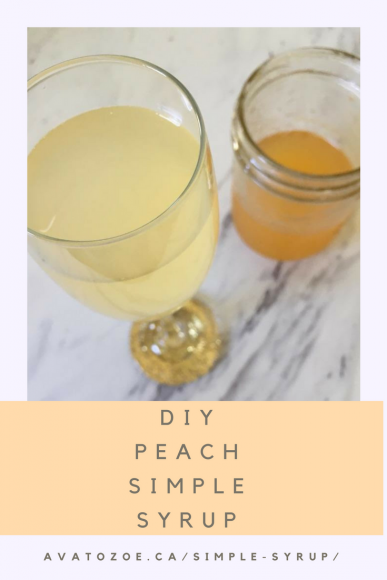 DIY Sweet Simple Okanagan Peach Syrup Recipe 4