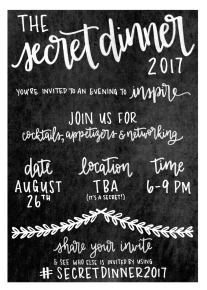 The Secret Dinner: A Night To Inspire! 35