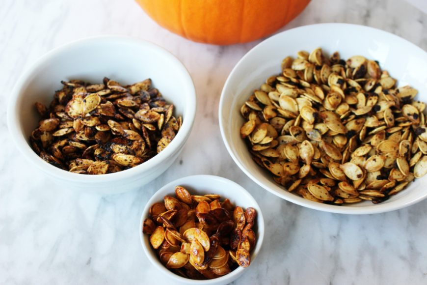 Finished Pumpkin Seeds, 3 flavours!