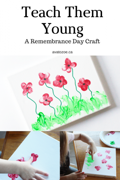 Teach Them Young! A Toddler Remembrance Day Craft! 7