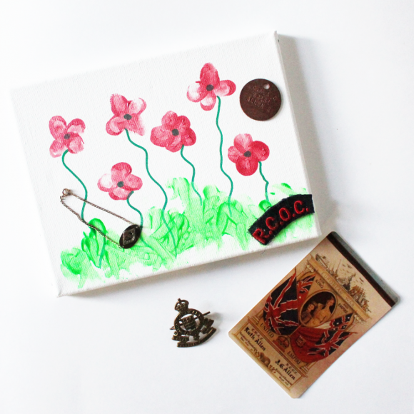 Teach Them Young! A Toddler Remembrance Day Craft!