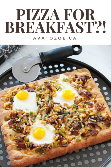 An Easy and Healthy Breakfast Pizza Recipe 7