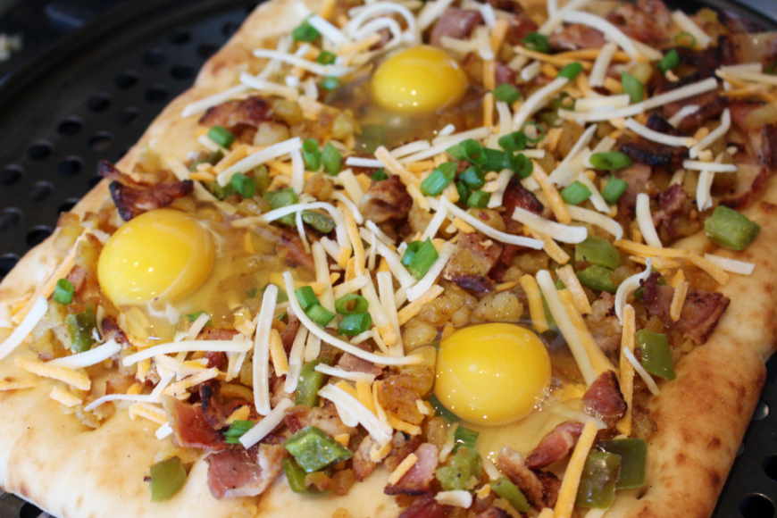 An Easy and Healthy Breakfast Pizza Recipe 4