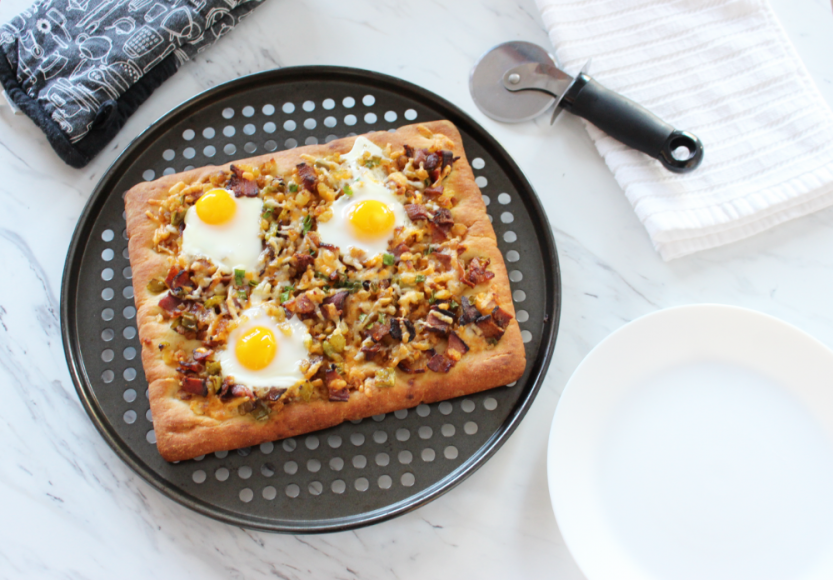 An Easy and Healthy Breakfast Pizza Recipe 5
