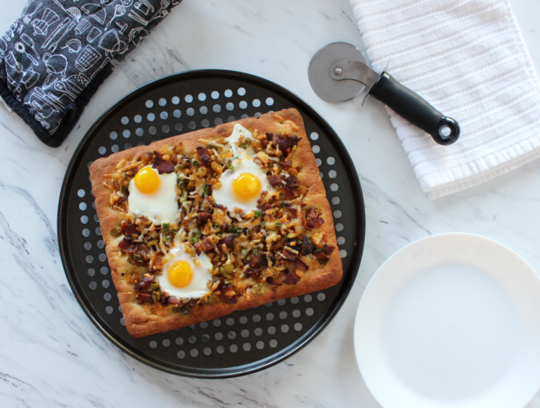An Easy and Healthy Breakfast Pizza Recipe 2