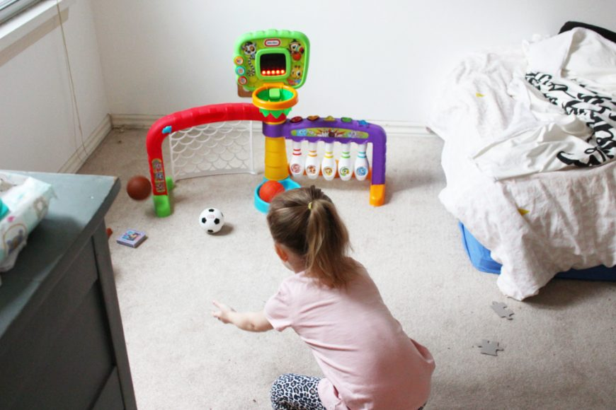 Indoor Sports Fun Perfect For A Happy Toddler! 3