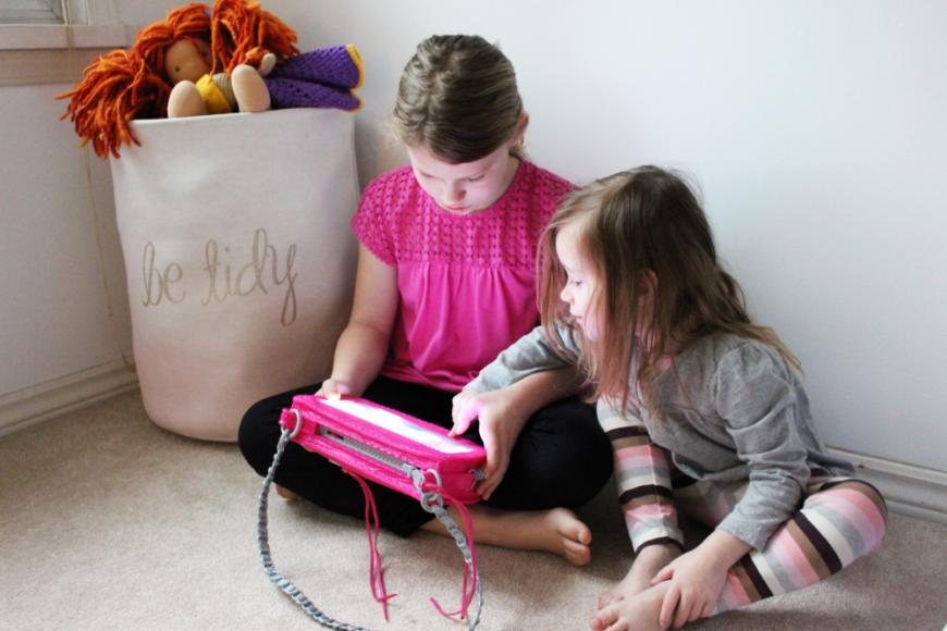 A Smart Pixel Purse With Fun Messages For Tweens! 7