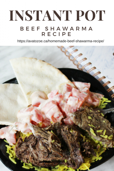 Instant Pot Beef Shawarma Recipe
