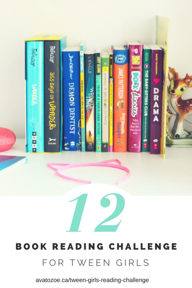 Motivating Your Tween Girls With A Fun Reading Challenge 5