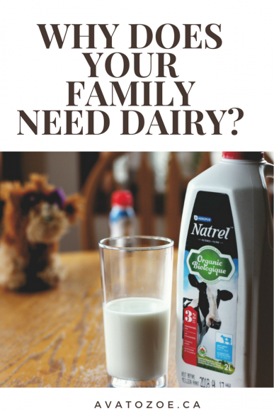 Why Your Growing Family Really Needs Dairy! 7