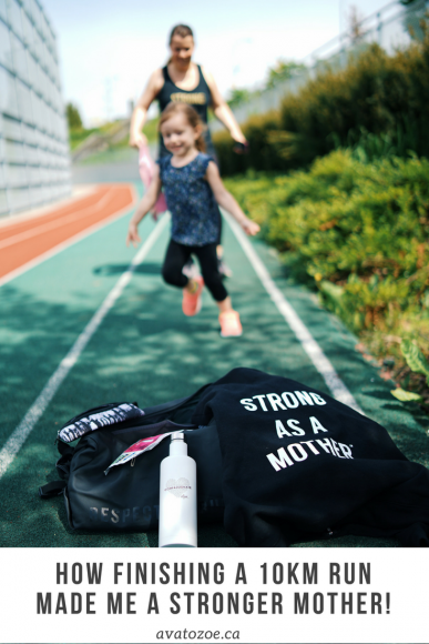 How Finishing A 10km Run Made Me A Stronger Mother! 10