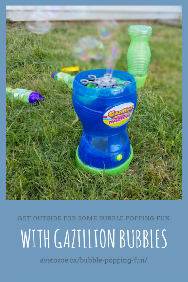 Get Outside For Some Bubble Popping Fun With Gazillion Bubbles 5