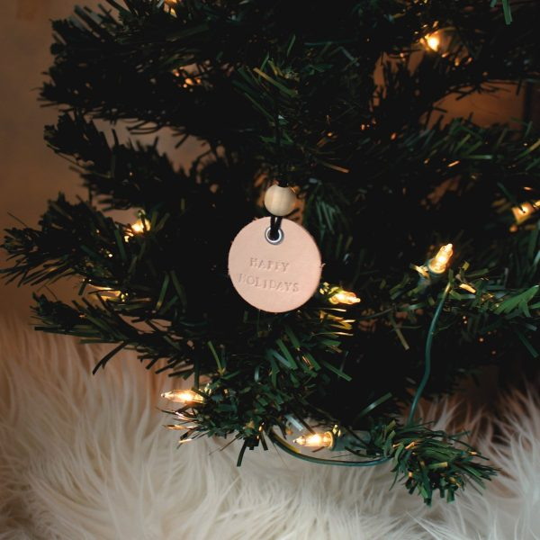 Genuine Leather Ornament & Gift Tag 4